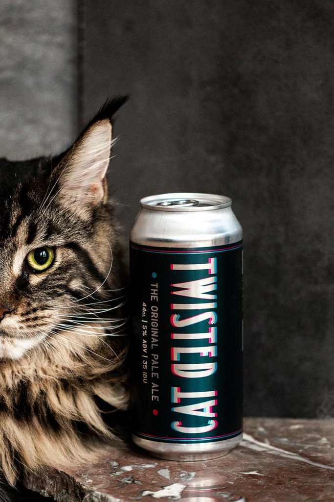 Twisted Cat beer